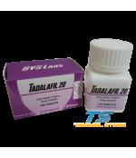 BVS Labs Tadalafil Tablet - 20mg / 100 Tabs