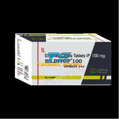 Silditop 100 Mg X 100 Tablets (Sildenafil / Viagra)