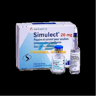 SIMULECT 20 MG 1 VIAL