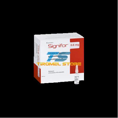 SIGNIFOR 0.3 MG 1 ML 60 AMP