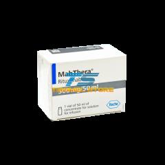 MABTHERA 500 MG 50 ML 1 VIAL